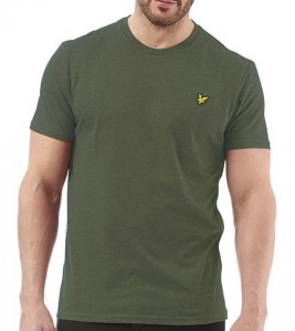 LYLE & SCOTT T-shirt męski zielony TLIL06